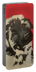 Date With Paint Sept 18 5 Portable Battery Charger by Ania M Milo