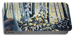 Portable Battery Charger featuring the painting Natures Dance by Joanne Smoley