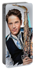 Dave Koz Portable Battery Charger