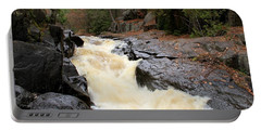 Dave's Falls #7284 Portable Battery Charger by Mark J Seefeldt