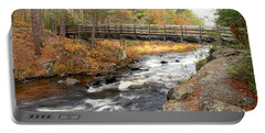 Dave's Falls #7480 Portable Battery Charger by Mark J Seefeldt