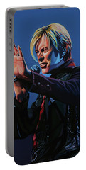 David Bowie Live Painting Portable Battery Charger