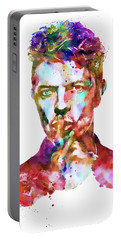 David Bowie  Portable Battery Charger by Marian Voicu