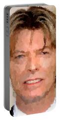 David Bowie Portrait Portable Battery Charger