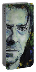 David Bowie Portable Battery Charger by Richard Day