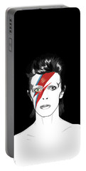 David Bowie Tribute Portable Battery Charger