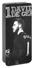 David De Gea Portable Battery Charger by Semih Yurdabak
