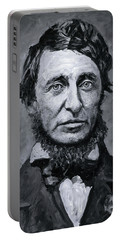 David Henry Thoreau Portable Battery Charger