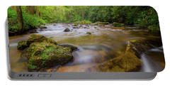Davidson River In Pisgah National Forest Portable Battery Charger