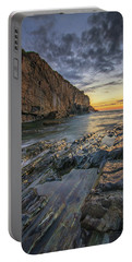Dawn At Bald Head Cliff Portable Battery Charger