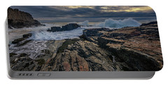 Portable Battery Charger featuring the photograph Dawn At Bald Head Cliff by Rick Berk