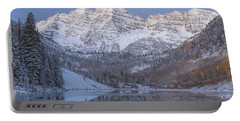 Dawn At Maroon Bells 2 Portable Battery Charger
