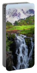 Dawn At Myrtle Falls Portable Battery Charger