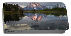 Dawn At Oxbow Bend Portable Battery Charger