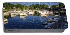 Dawn At Perkins Cove - Maine Portable Battery Charger
