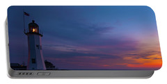 Dawn At Scituate Light Portable Battery Charger