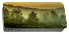 Dawn At Wildlife Management Area Portable Battery Charger by Thomas R Fletcher