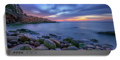 Dawn In Monument Cove Portable Battery Charger by Rick Berk