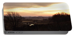 Dawn In The Valley Portable Battery Charger