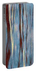 Dawn In The Winter Forest - Landscape Mood Lighting Portable Battery Charger