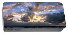 Dawn Of A New Day Treasure Coast Florida Seascape Sunrise 138 Portable Battery Charger