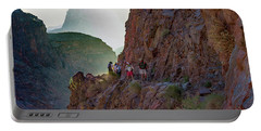 Dawn On Bright Angel Trail Portable Battery Charger
