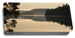 Dawn On Ottertrack Lake Portable Battery Charger
