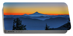 Dawn On The Mountain Portable Battery Charger