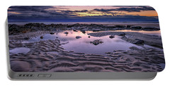 Portable Battery Charger featuring the photograph Dawn On Wells Beach by Rick Berk
