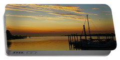 Dawn Over The Bay Portable Battery Charger