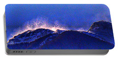Dawn With Snow Banners Over Truchas Peaks Portable Battery Charger