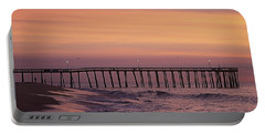 Dawns Purple Waters Portable Battery Charger by Robert Banach