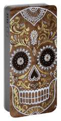 Day Of Death Portable Battery Charger