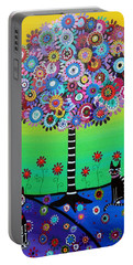 Day Of The Dead Cat'slife Portable Battery Charger by Pristine Cartera Turkus