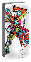 Day Of The Dead Cross Portable Battery Charger