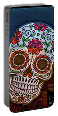 Portable Battery Charger featuring the photograph Day Of The Dead  by Mitch Shindelbower