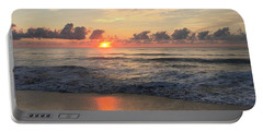 Daybreak At Cocoa Beach Portable Battery Charger