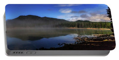 Portable Battery Charger featuring the photograph Daybreak At Sparks Lake by Cat Connor