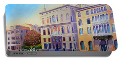 Daybreak At Venice Portable Battery Charger by Shelia Kempf