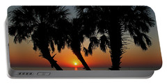 Portable Battery Charger featuring the photograph Daybreak by Judy Vincent