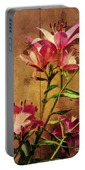 Dayliliys In  Guilford , Conn Portable Battery Charger