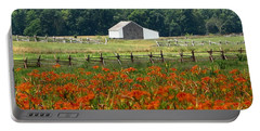 Daylily Drama Portable Battery Charger