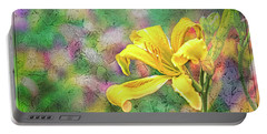 Daylily Fresco Portable Battery Charger