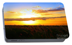 Portable Battery Charger featuring the photograph Day's End by DJ Florek