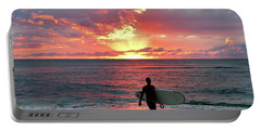 Day's End On The North Shore Portable Battery Charger