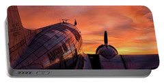 Dc-3 Dawn - 2017 Christopher Buff, Www.aviationbuff.com Portable Battery Charger