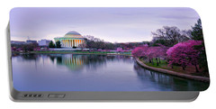 Dc Cherry Blossoms 2018 Portable Battery Charger