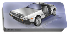 De Lorean Portable Battery Charger