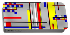 De Stijl Love Portable Battery Charger