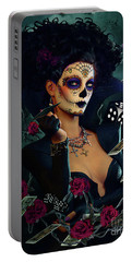 Dead Lucky Sugar Doll Portable Battery Charger